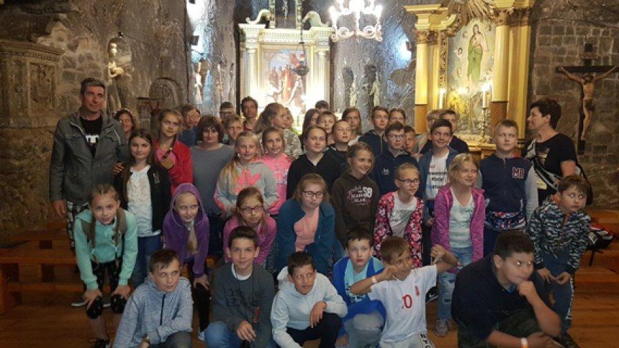 Wycieczka do Krakowa, Bochni, Ogrodzieńca